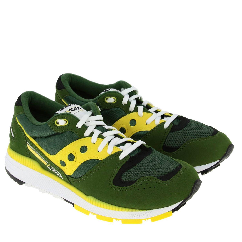 Trainers men Saucony green 2