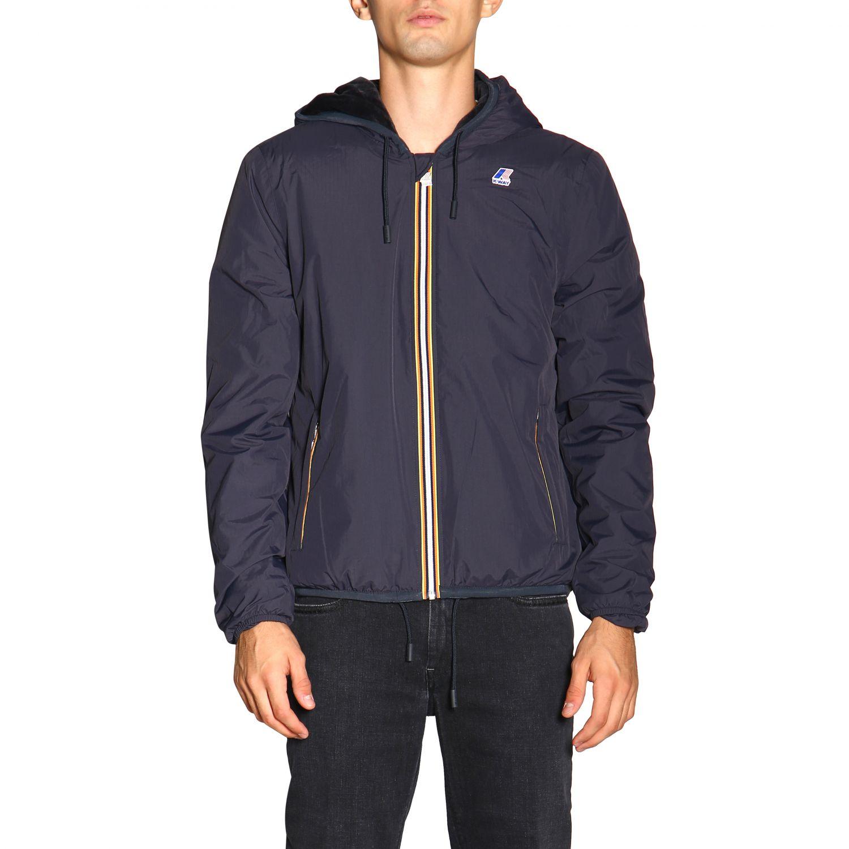 Jacket men K-way charcoal 1