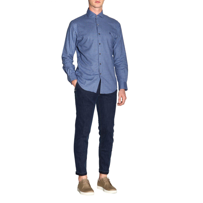 Hemd Polo Ralph Lauren: Polo Ralph Lauren Hemd mit französischem Kragen und Logo blau 2