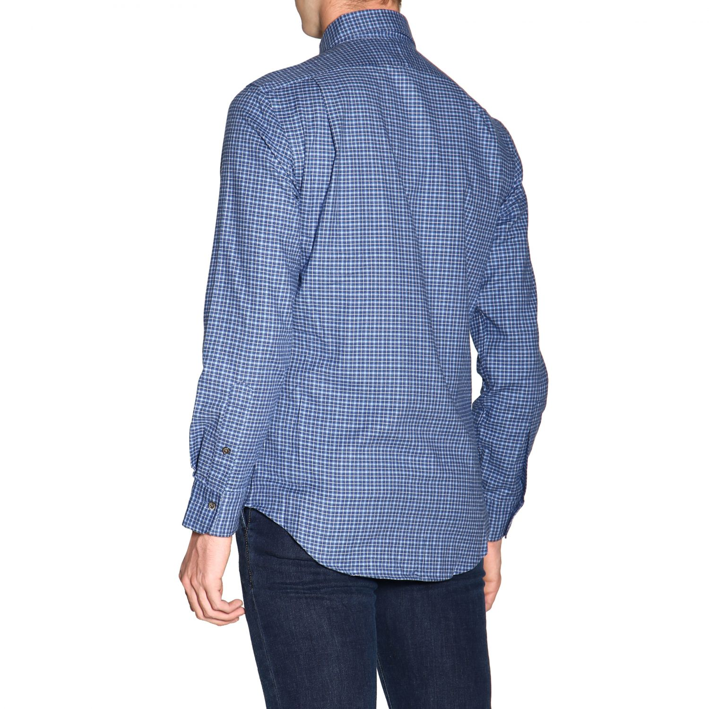 Hemd Polo Ralph Lauren: Polo Ralph Lauren Hemd mit französischem Kragen und Logo blau 3