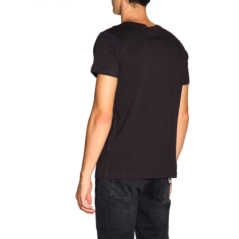 T-shirt men K-way black 3