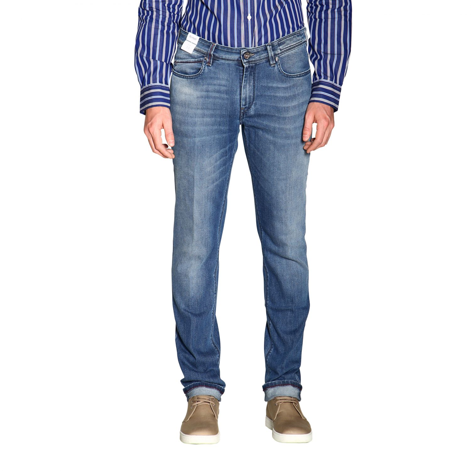 Jeans hombre Re-hash azul oscuro 1