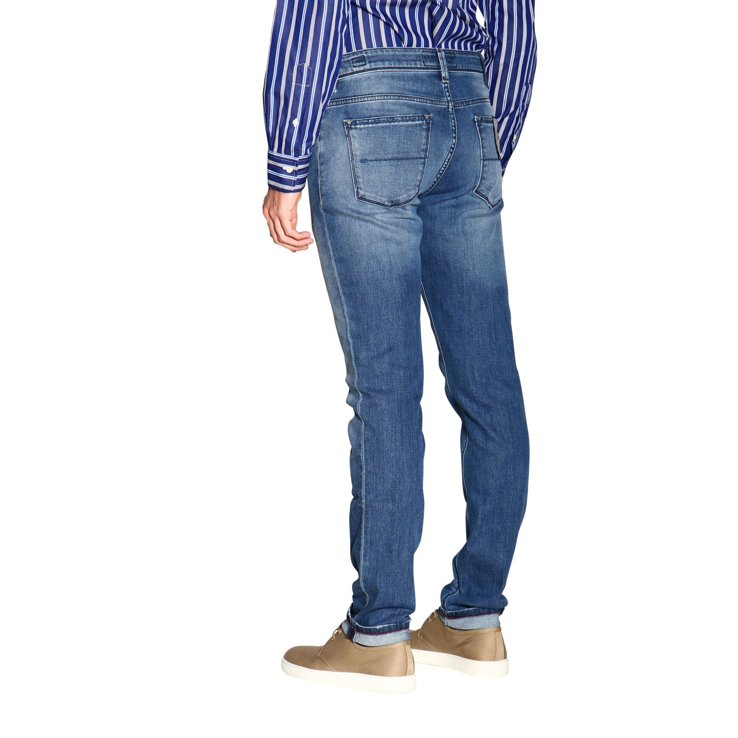 Jeans hombre Re-hash azul oscuro 3