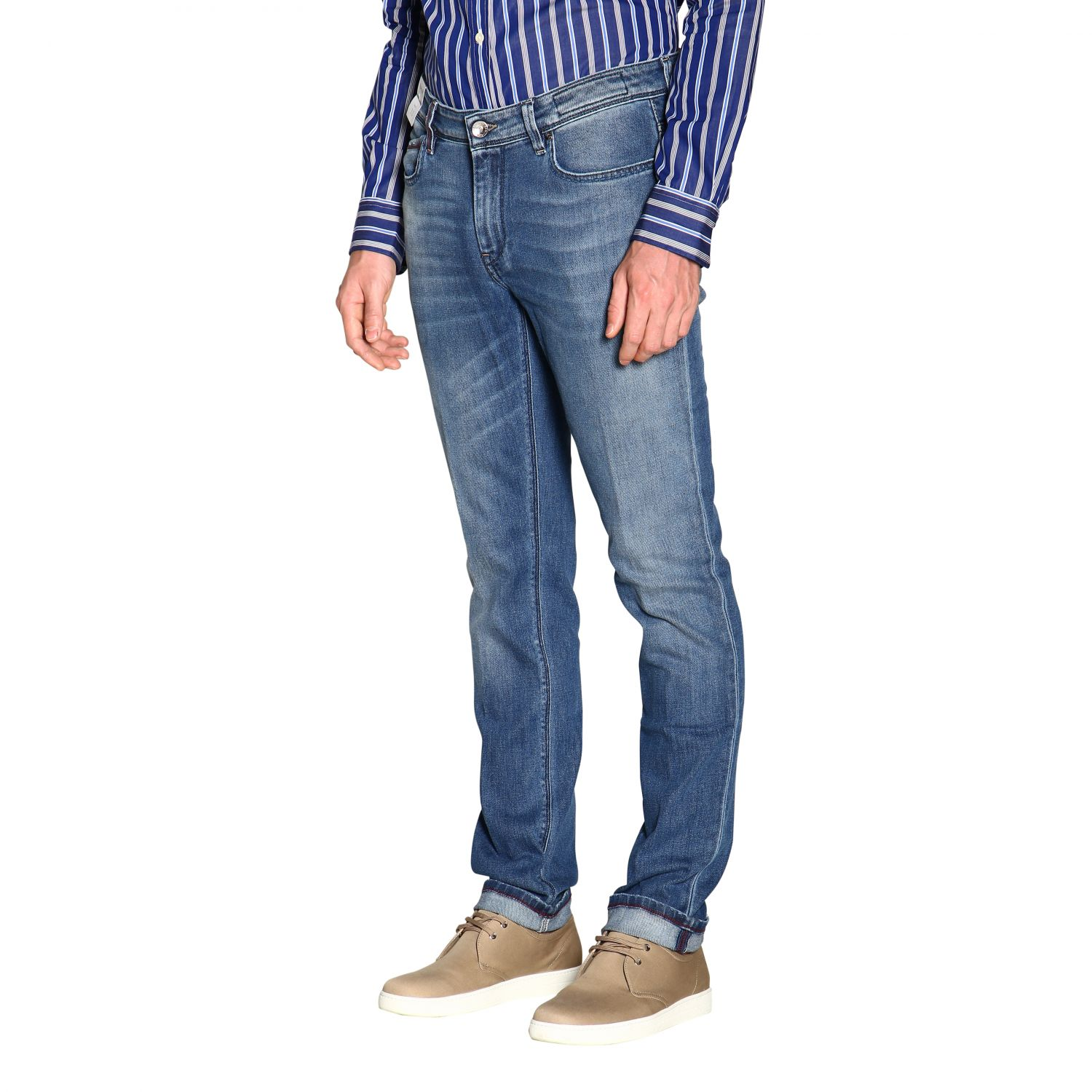 Jeans hombre Re-hash azul oscuro 4