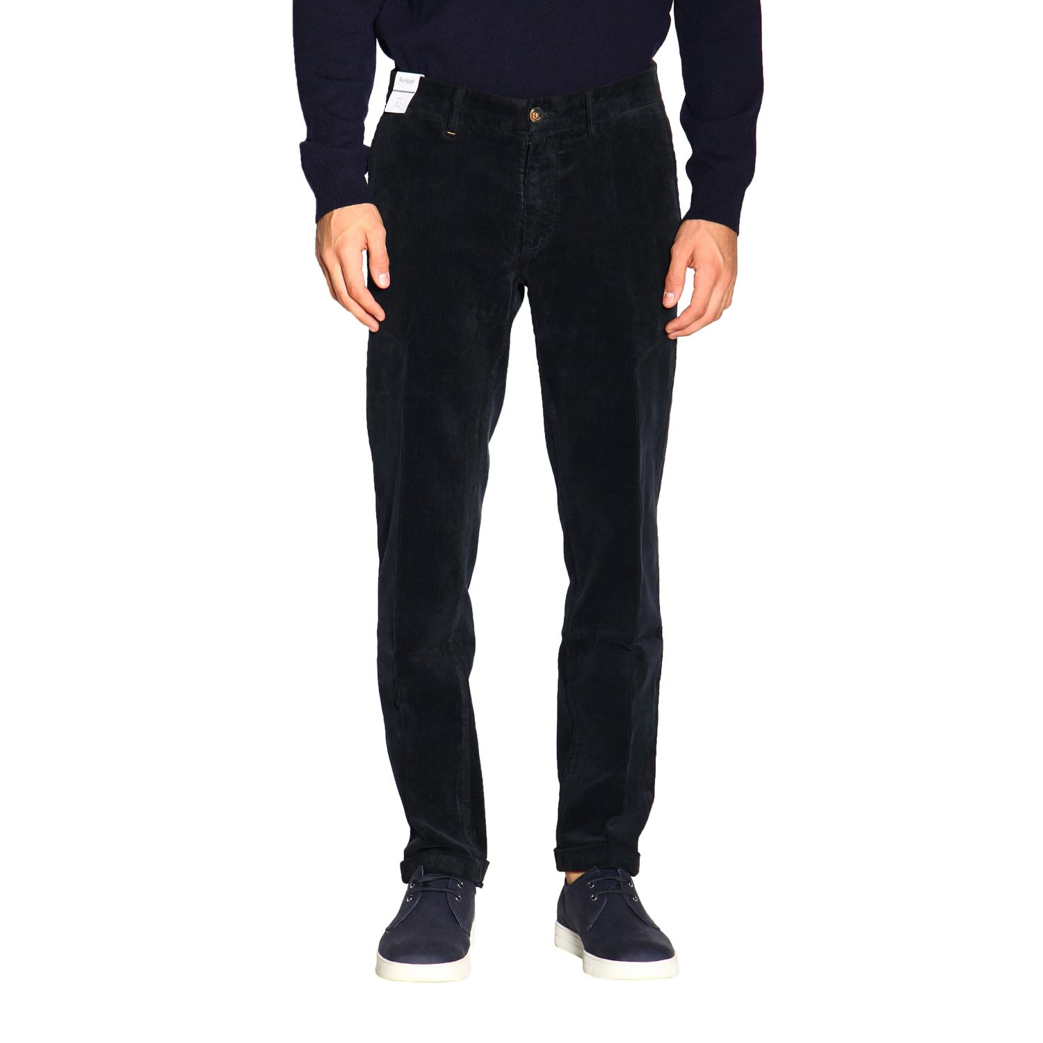 Pants men Re-hash blue 1