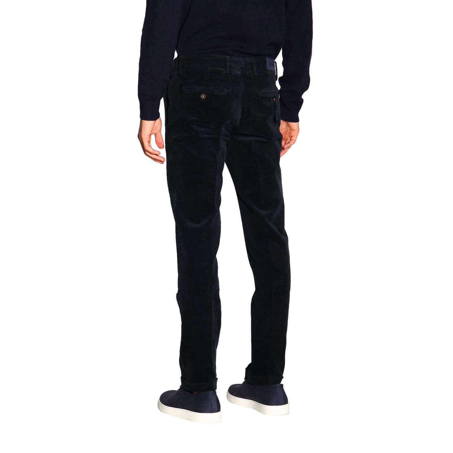Pants men Re-hash blue 3
