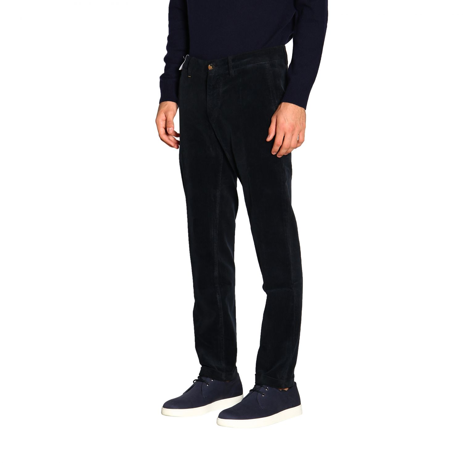 Pants men Re-hash blue 4
