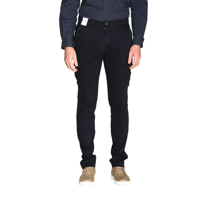 Pantalón hombre Re-hash azul oscuro 1