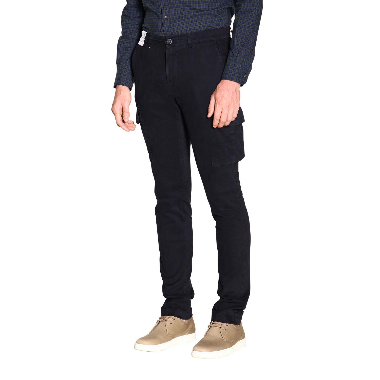 Pantalón hombre Re-hash azul oscuro 4