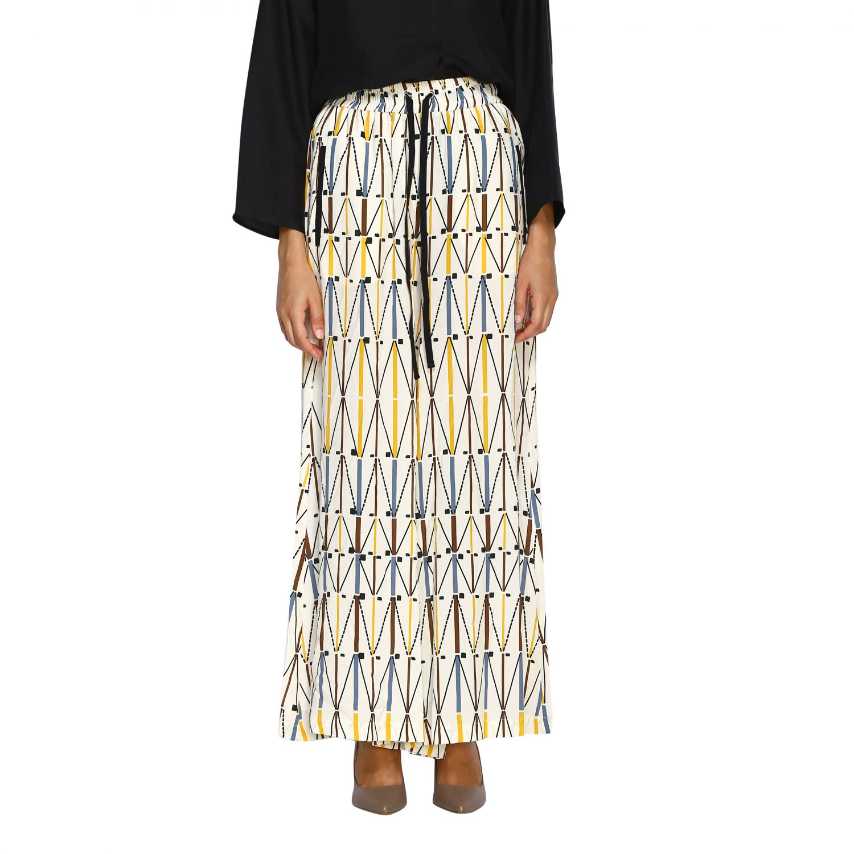 Pants Alysi: Pants women Alysi ivory 1