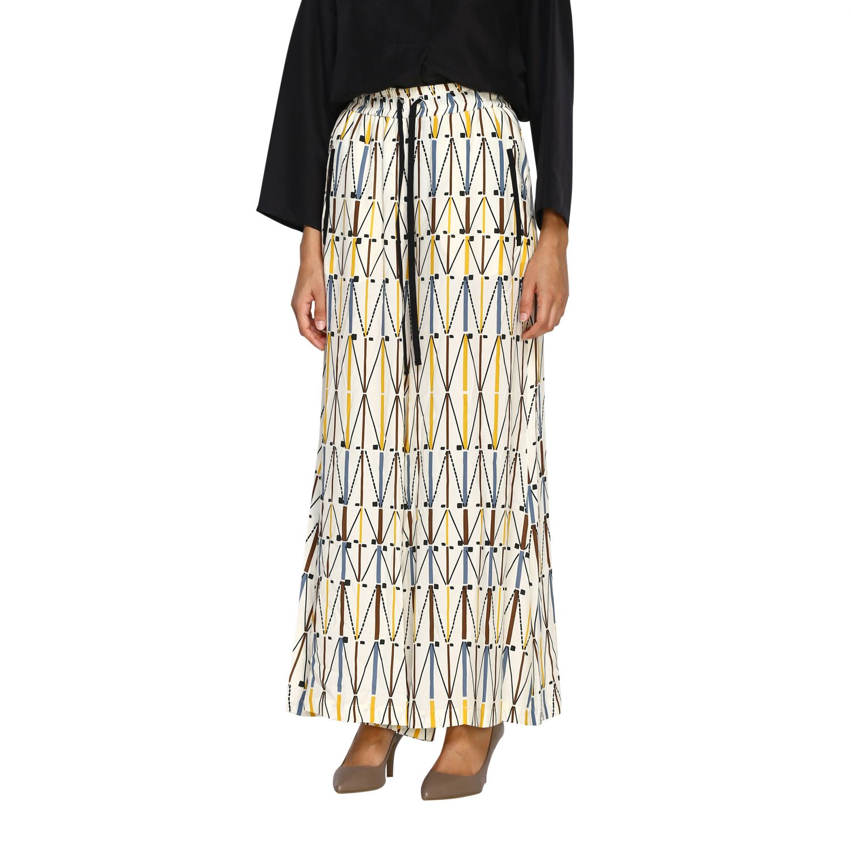 Pants Alysi: Pants women Alysi ivory 4