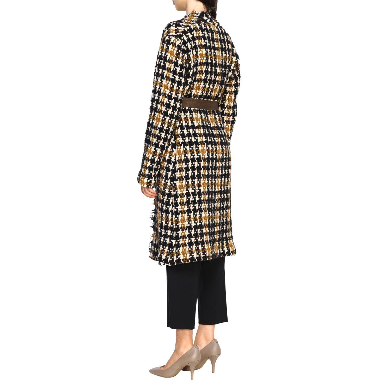 Cappotto donna Alysi nero 3