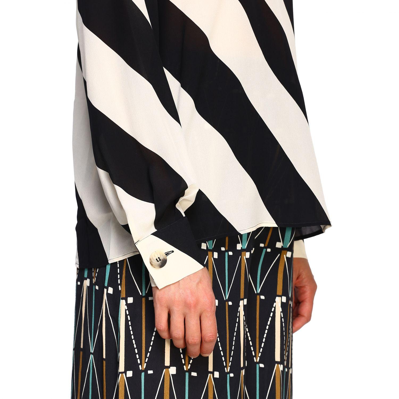 Camicia Alysi: Maglia Alysi a maniche lunghe con micro fantasia nero 5