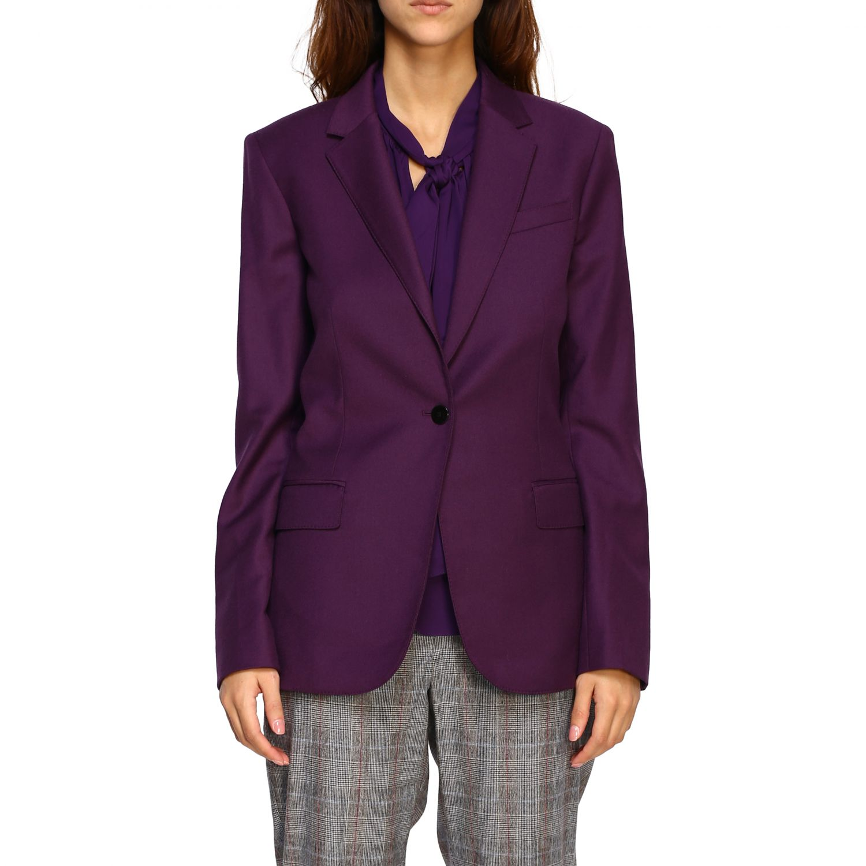 Blazer women Theory violet 1