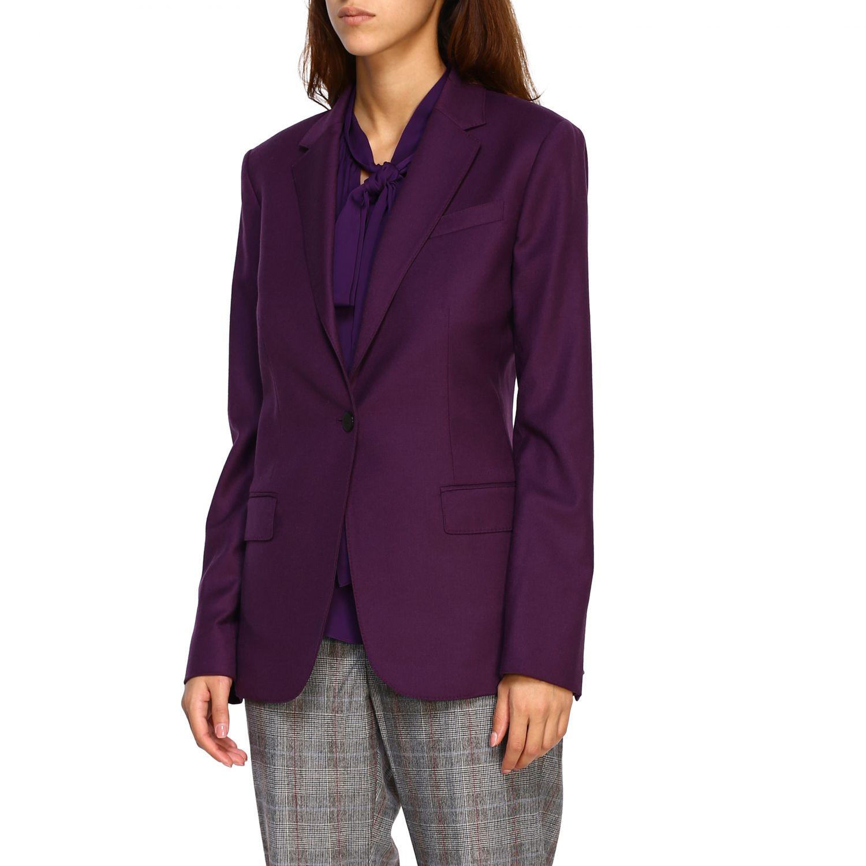 Blazer women Theory violet 4