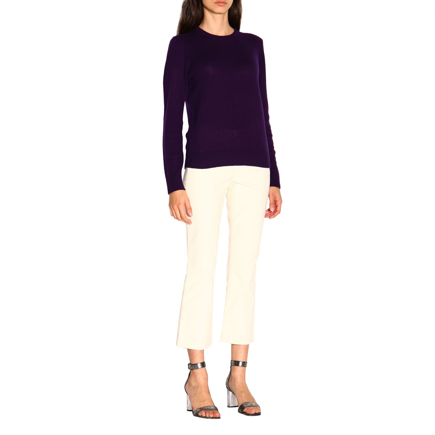 Jumper women Theory violet 2