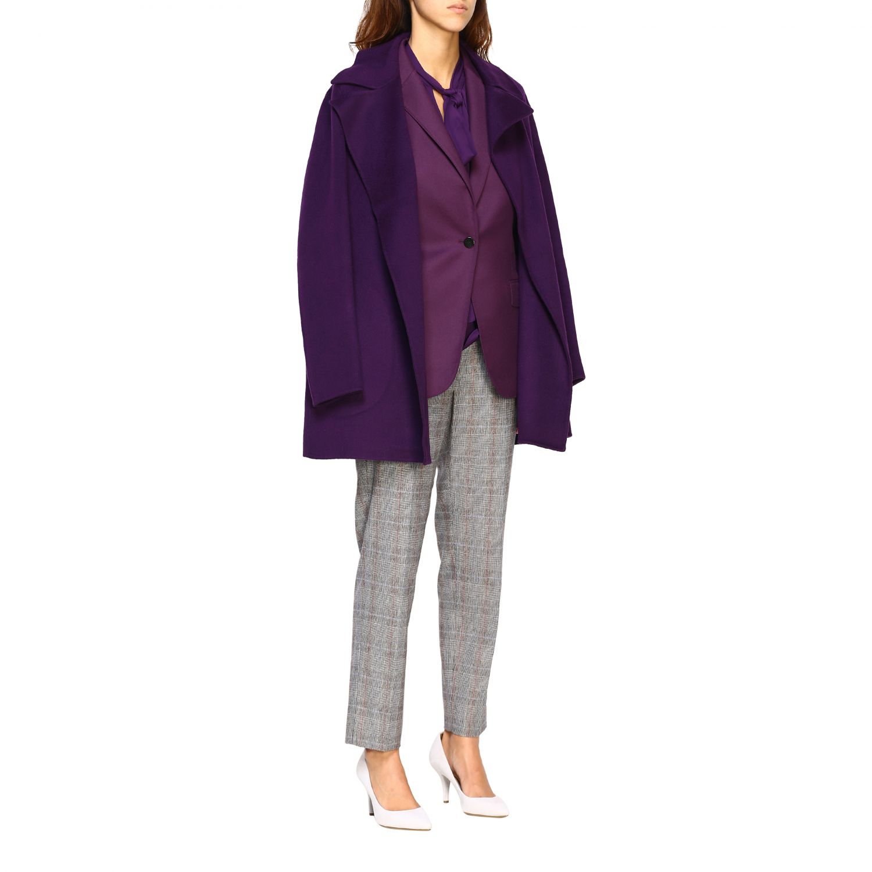 Blazer women Theory violet 2