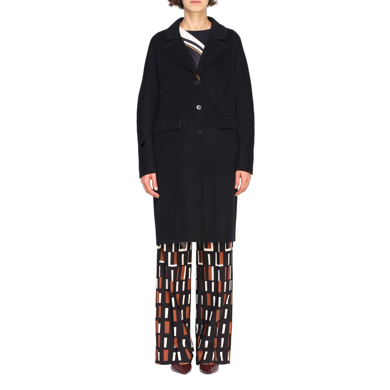 Cappotto Maliparmi: Cappotto donna Maliparmi nero 1