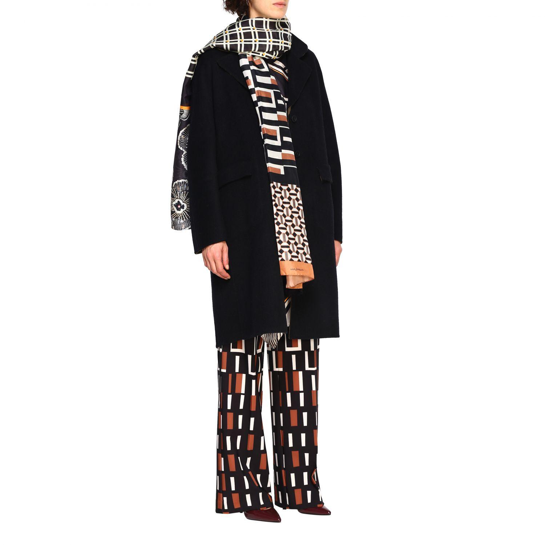 Cappotto Maliparmi: Cappotto donna Maliparmi nero 2