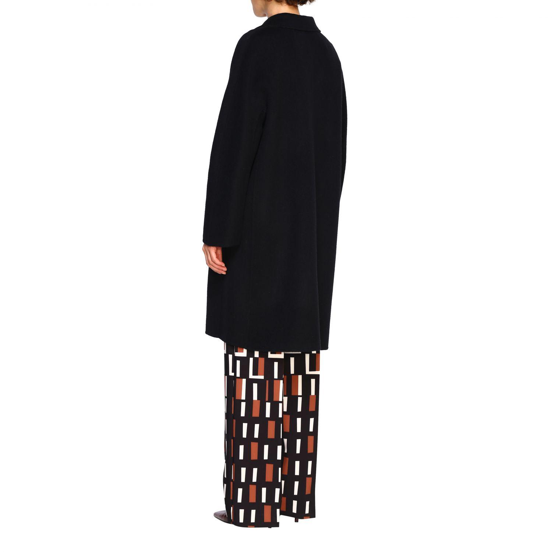 Cappotto Maliparmi: Cappotto donna Maliparmi nero 3