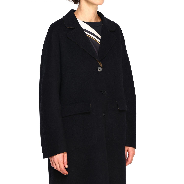 Cappotto Maliparmi: Cappotto donna Maliparmi nero 5
