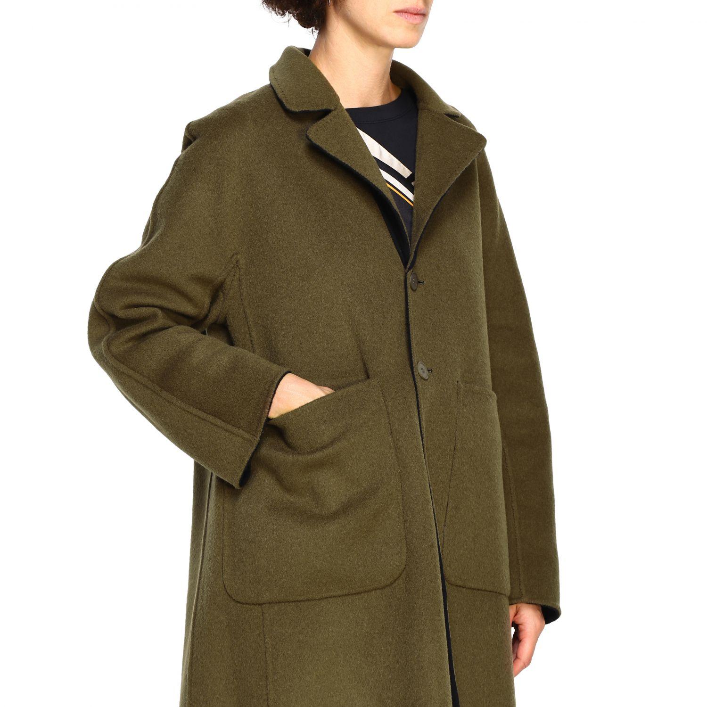 Cappotto Maliparmi: Cappotto donna Maliparmi nero 6