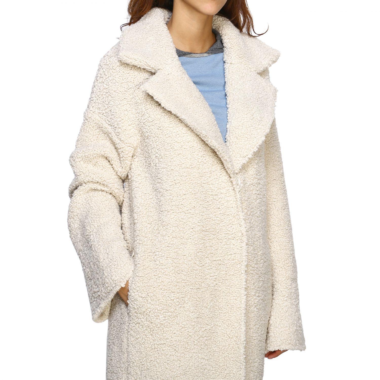 Fur coats D.exterior: Coat women D.exterior yellow cream 5