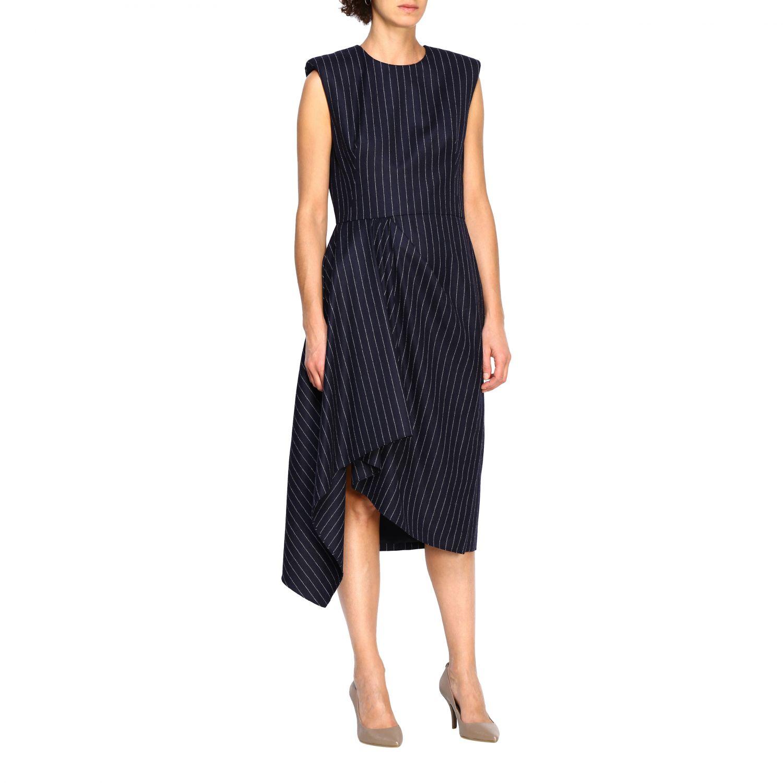 Dress Alexander Mcqueen: Dress women Alexander Mcqueen blue 1