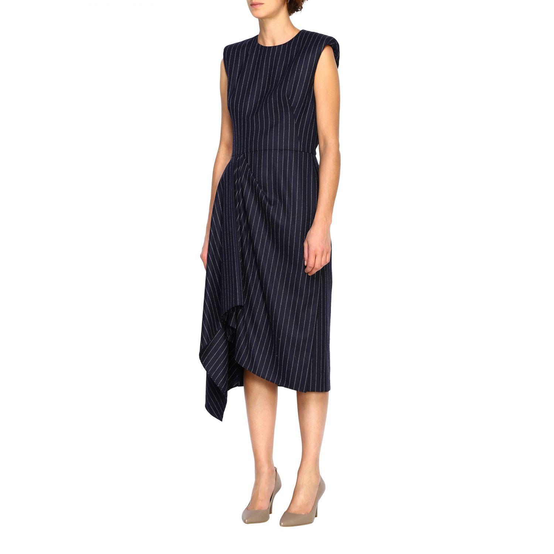 Dress Alexander Mcqueen: Dress women Alexander Mcqueen blue 3