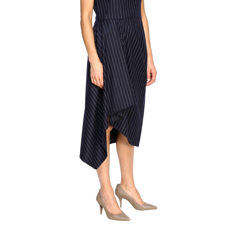 Dress Alexander Mcqueen: Dress women Alexander Mcqueen blue 4