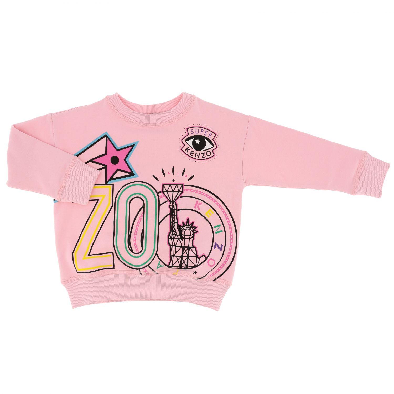 Pull Kenzo Junior: Pull enfant Kenzo Junior rose 1