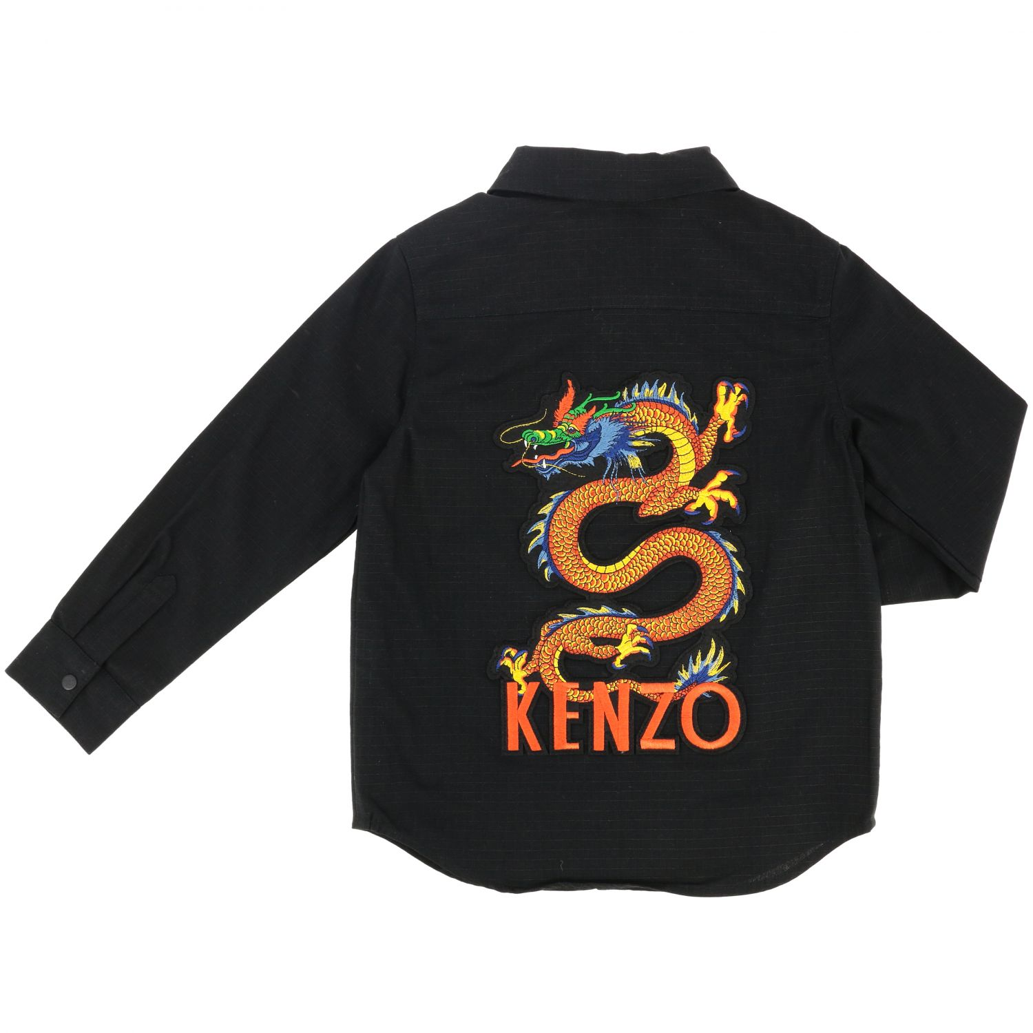 Shirt kids Kenzo Junior black 2