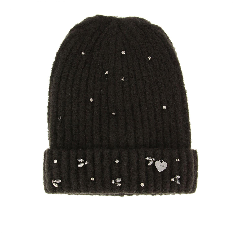 Hat Twin Set: Hat women Twin Set black 2
