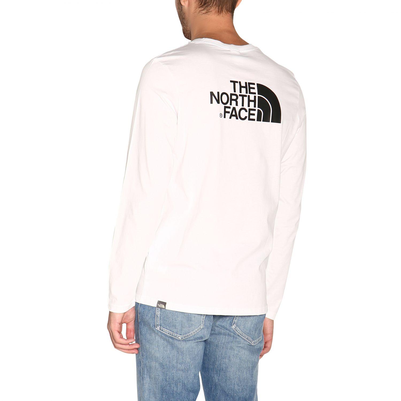 T-shirt herren The North Face weiß 3
