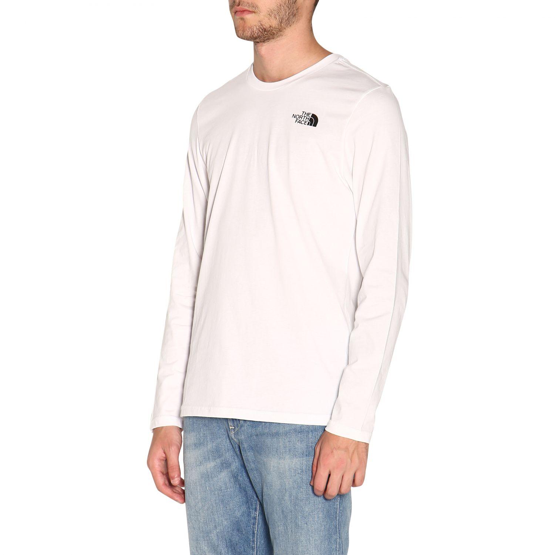T-shirt herren The North Face weiß 4