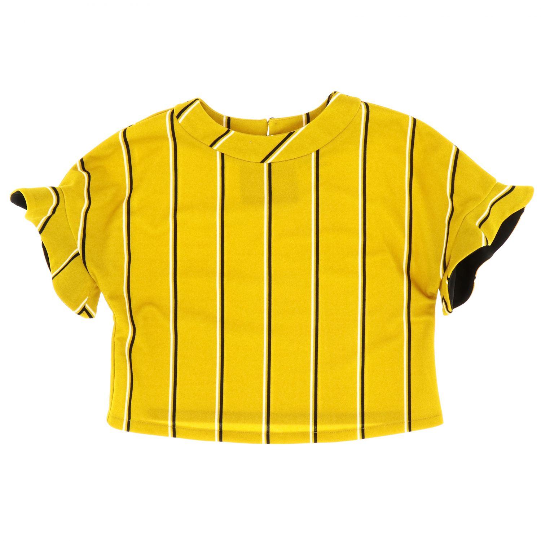 Jacket kids Loredana mustard 1
