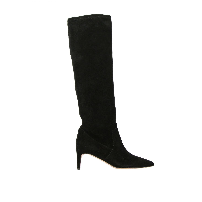 Boots women Red(v) black 1