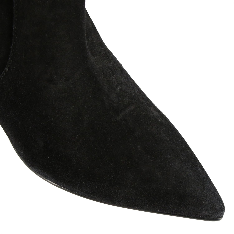 Boots women Red(v) black 3