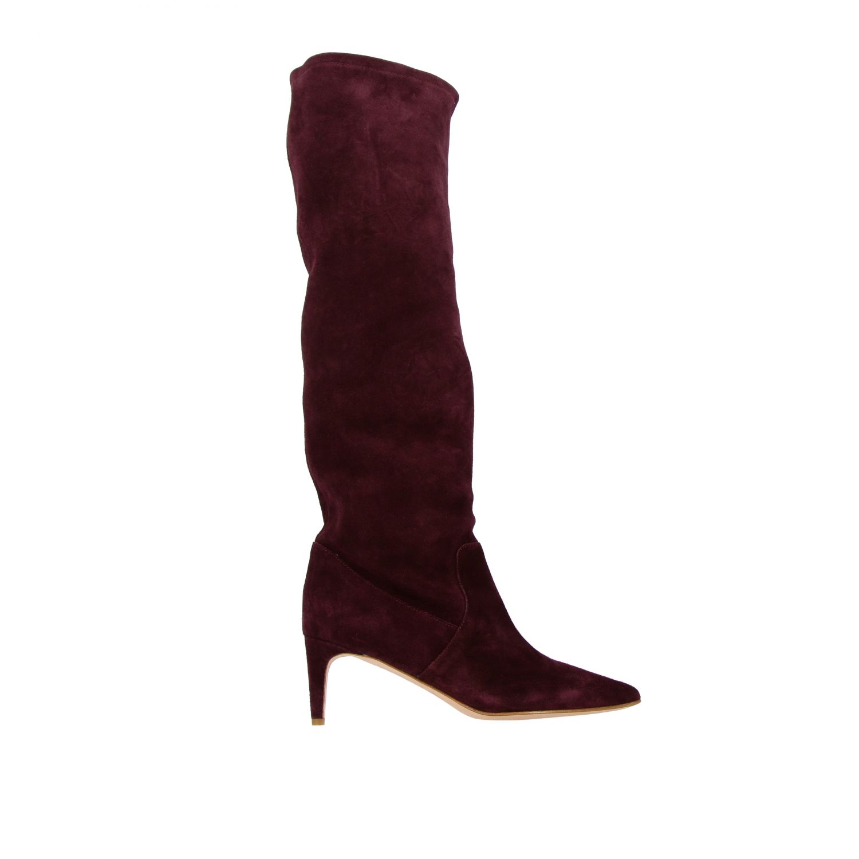 Boots women Red(v) violet 1