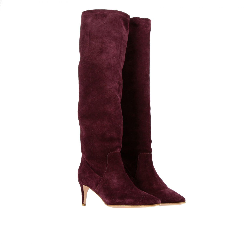 Boots women Red(v) violet 2