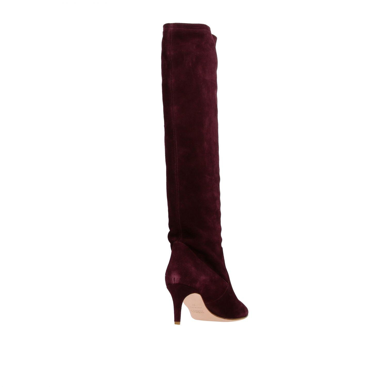 Boots women Red(v) violet 4