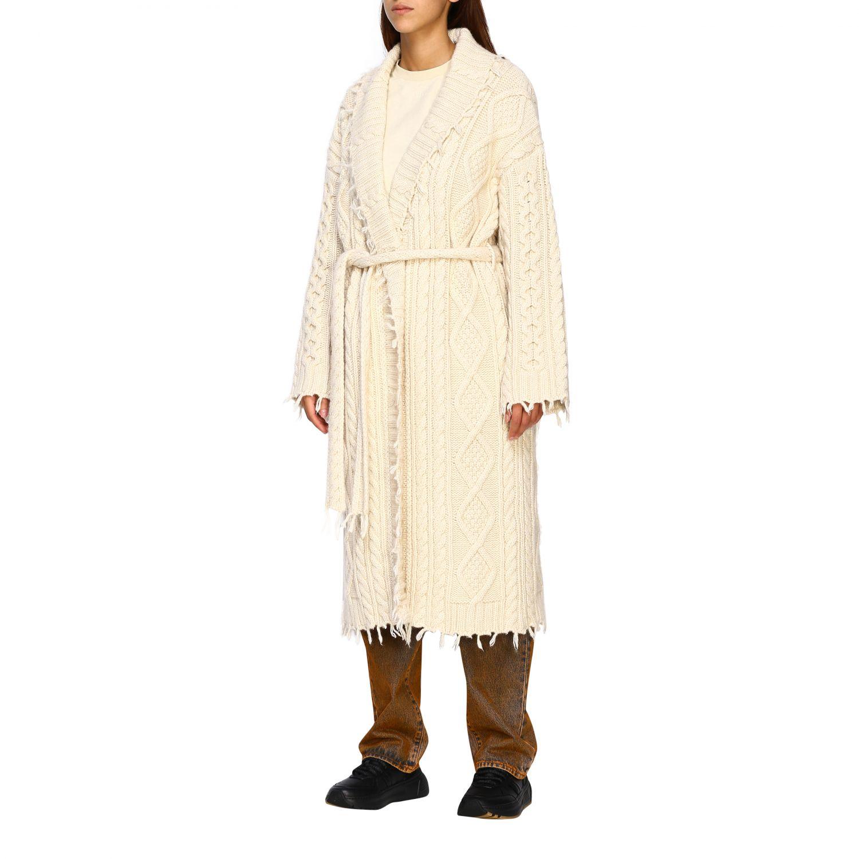 Cárdigan Alanui: Abrigo mujer Alanui blanco 4