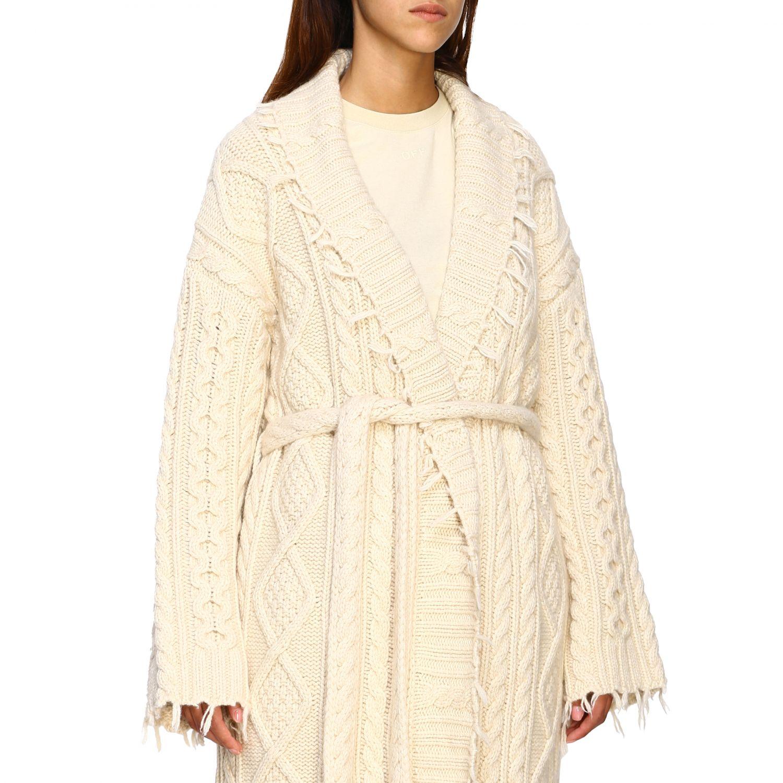 Cardigan Alanui: Cappotto donna Alanui bianco 5