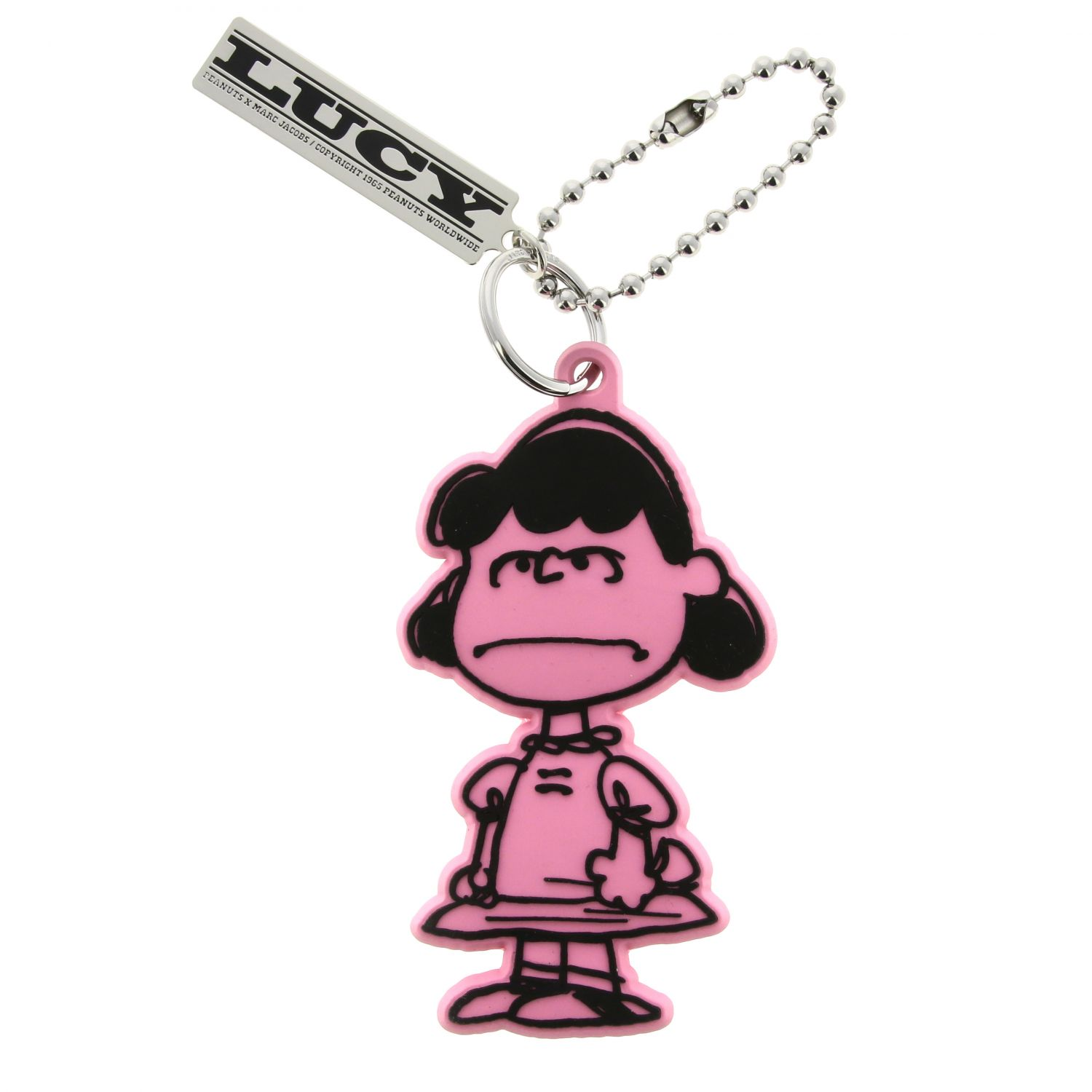 Keyring Marc Jacobs: Keyring women Marc Jacobs pink 1