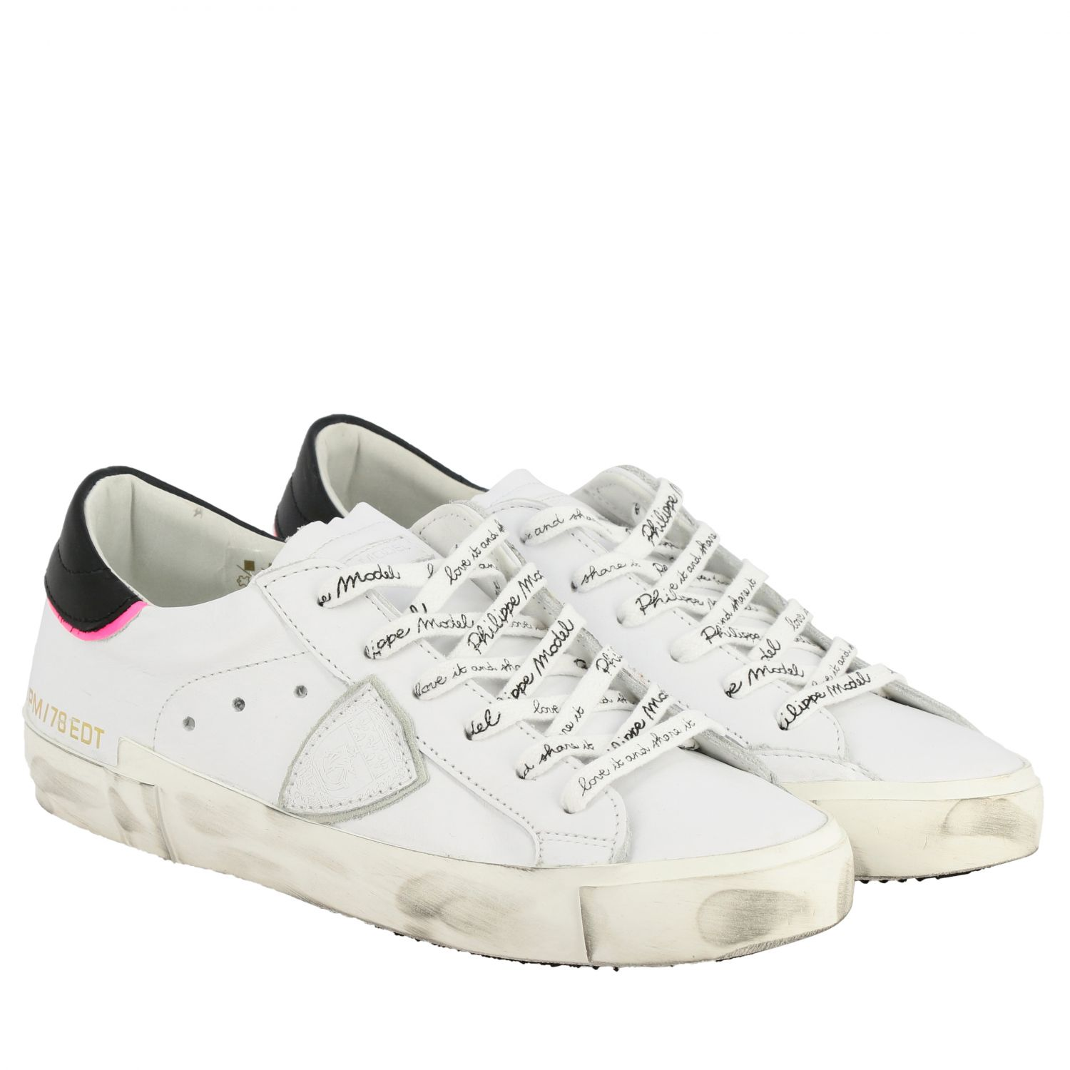 Sneakers women Philippe Model white 2