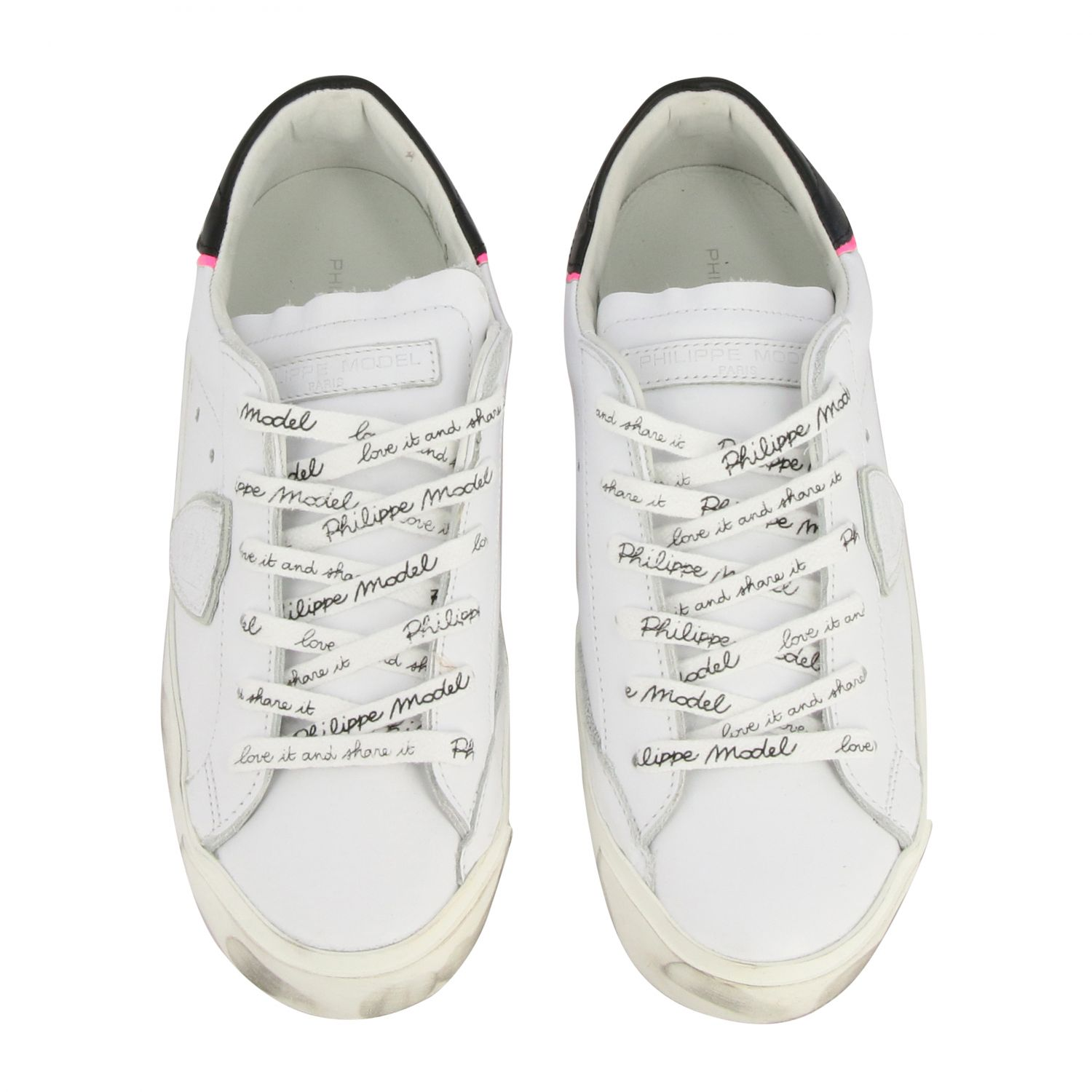 Sneakers women Philippe Model white 3