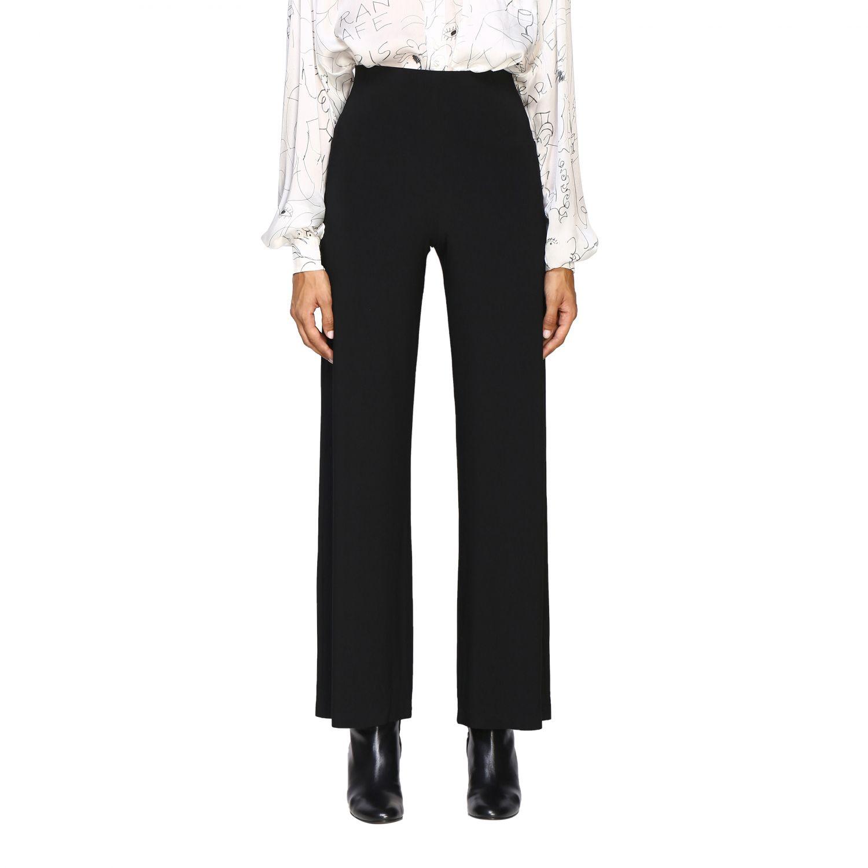 Pantalon femme Norma Kamali noir 1