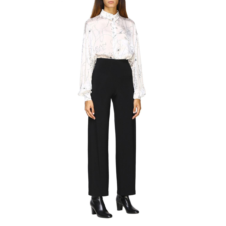 Pantalon femme Norma Kamali noir 2