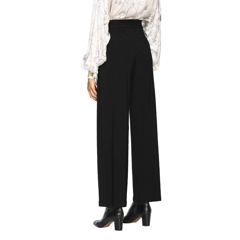Pantalon femme Norma Kamali noir 3