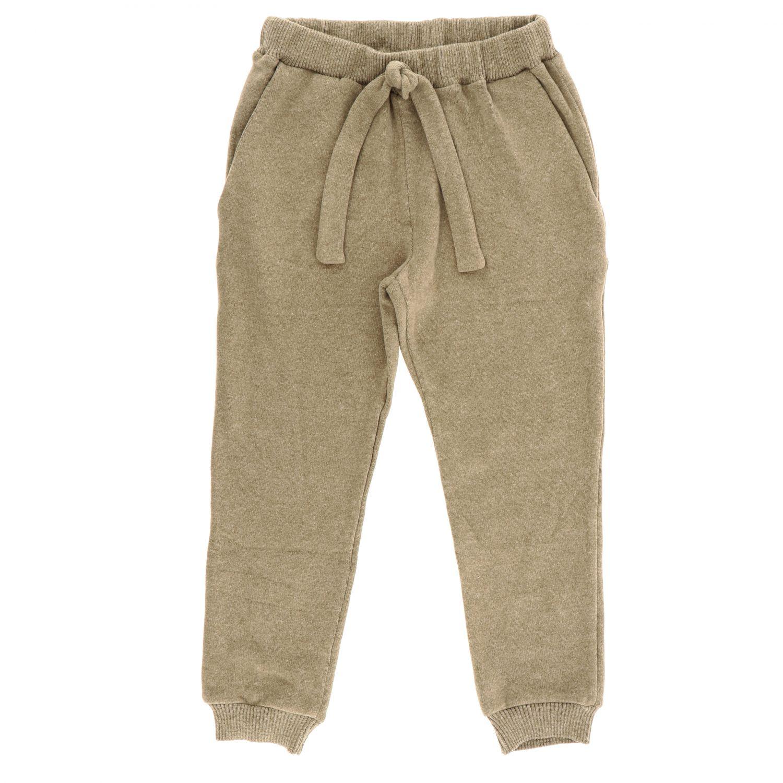Pantalone Caffe' D'orzo: Pantalone bambino Caffe' D'orzo nocciola 1